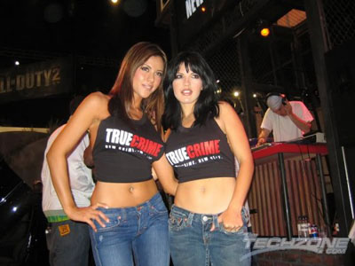 True Crime E3 girls by TheTechzone