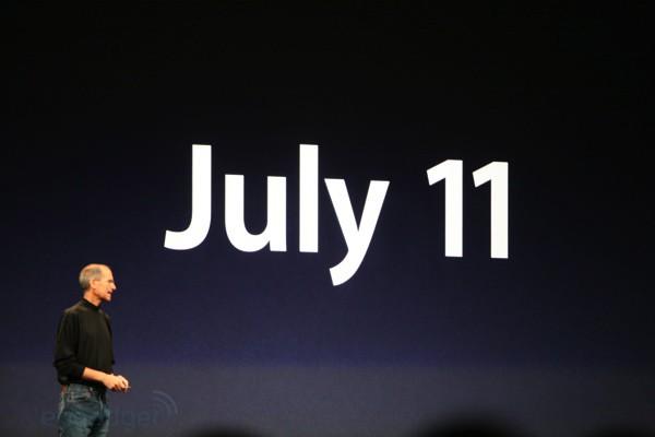 iPhone 3G Data de Lancamento