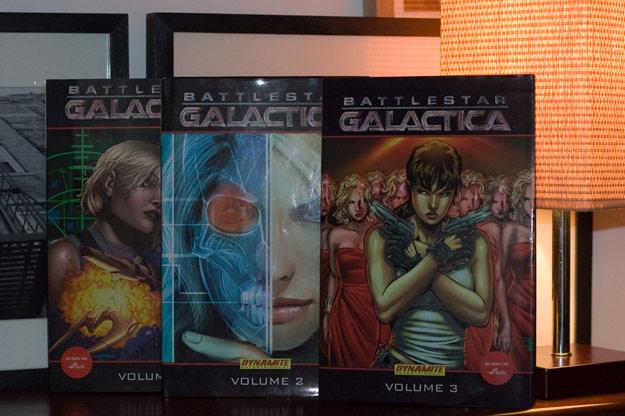 Galactica: The comics