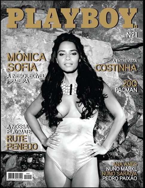 Capa da primeira Playboy Portugal