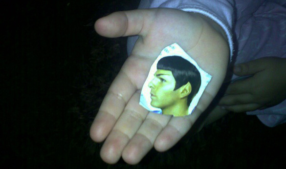 Filha de Geek - Young Spock