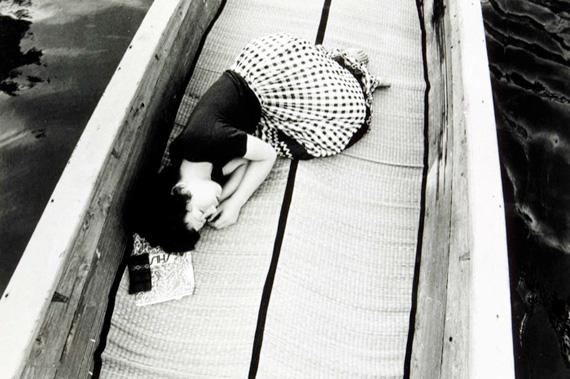 A fotografia do barco
