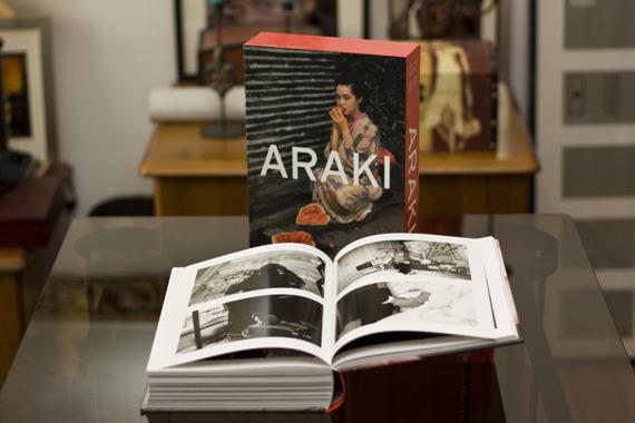 Araki, o livro
