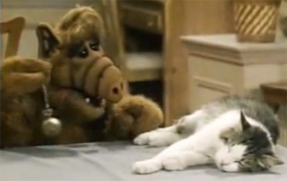 Alf e o gato Lucky