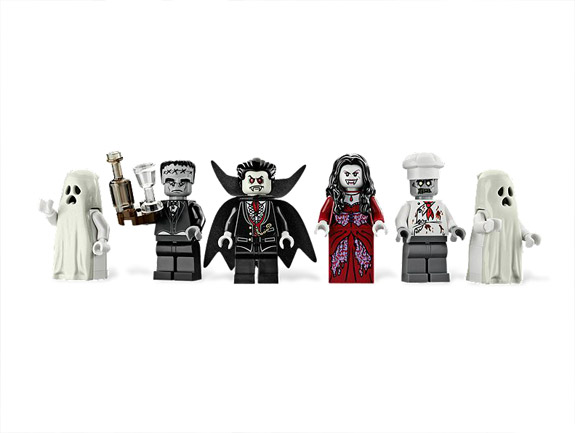A Casa Assombrada da Lego