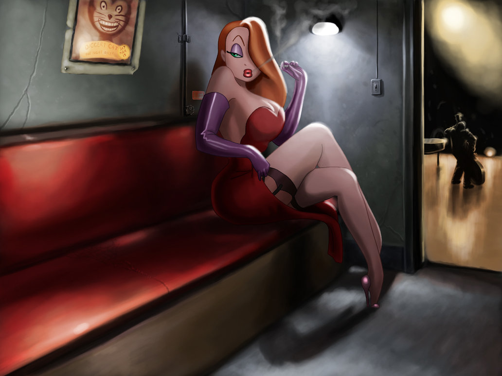 Jessica Rabbit Wallpaper Adaptation by Tyra Menendez