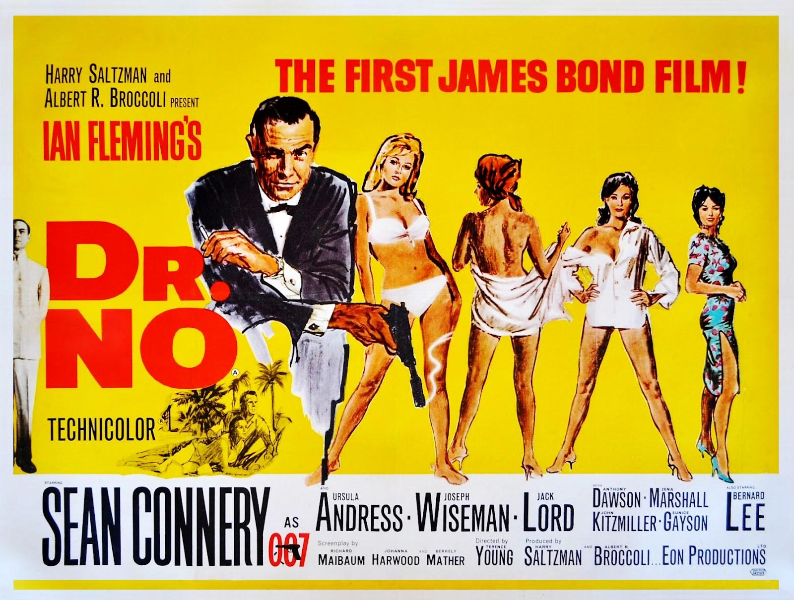 Dr No Poster Original
