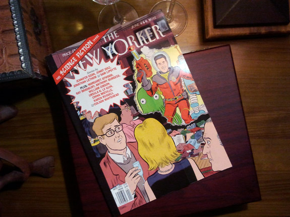 new yorker science fiction issue