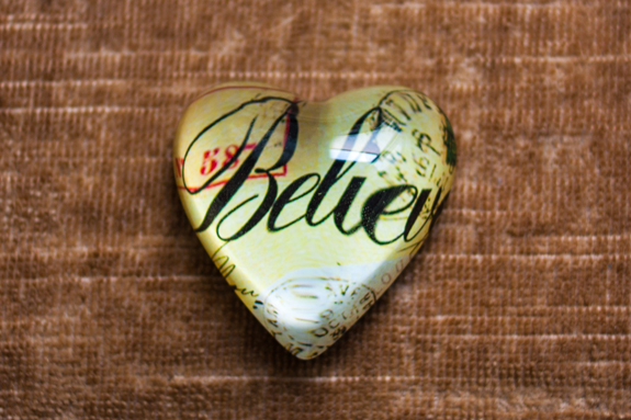 Believe. I do.