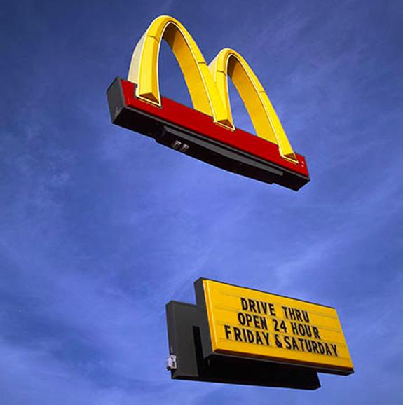 MacDonald's 2003 by Matt Siber