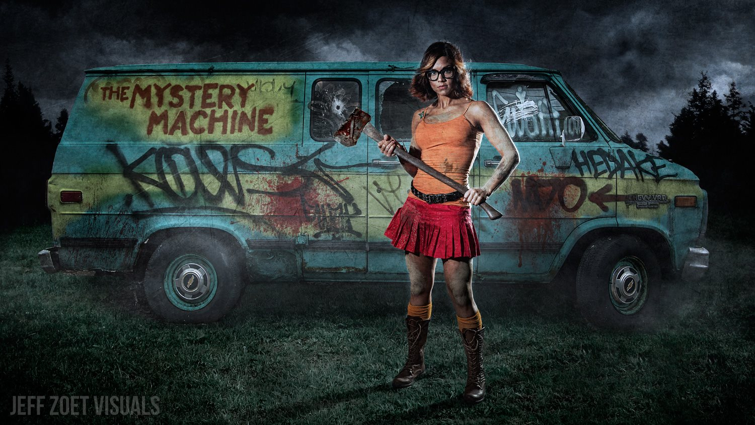 Velma and the Mistery Machine