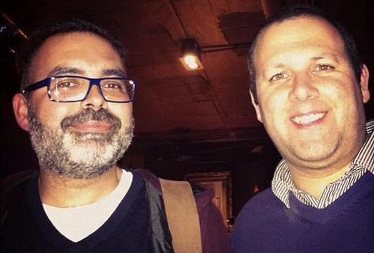 Pedro Rebelo e o Luis Miguel Rocha