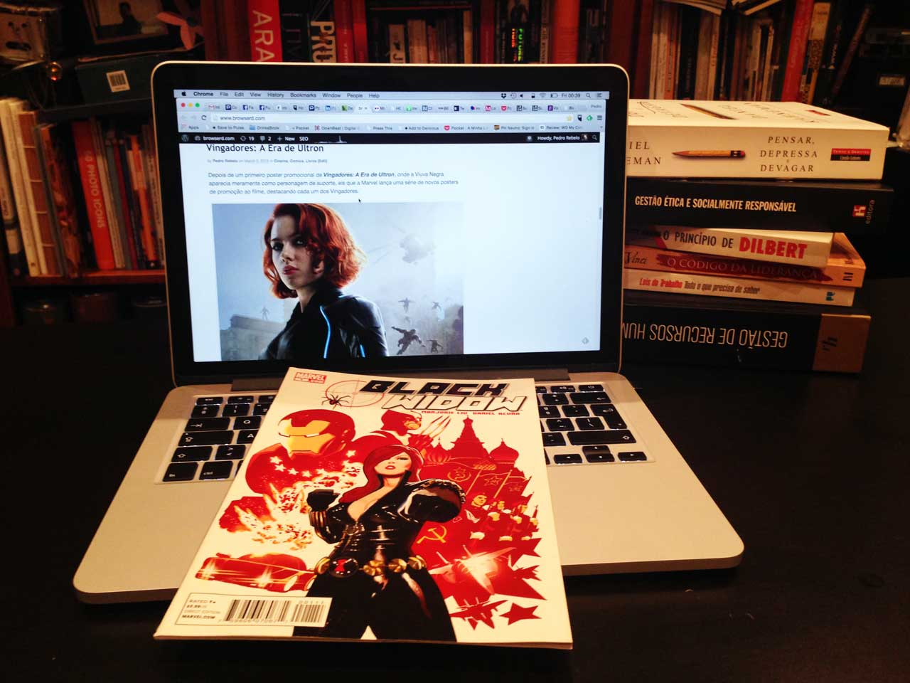 Black Widow Vol 4 #1 Pedro Rebelo