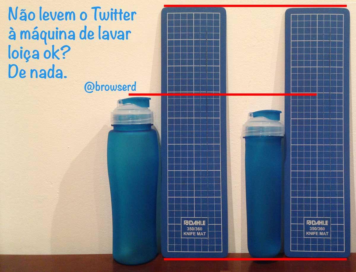 Pedro Rebelo mostra-vos o Twitter, antes e depois da máquina de lavar