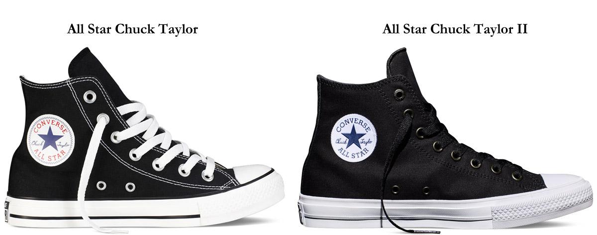 Novos All Star comparação All Star Classicos Pedro Rebelo