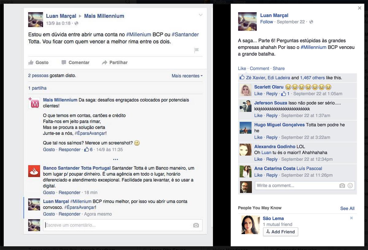 Bancos nas redes sociais as asneiras continuam