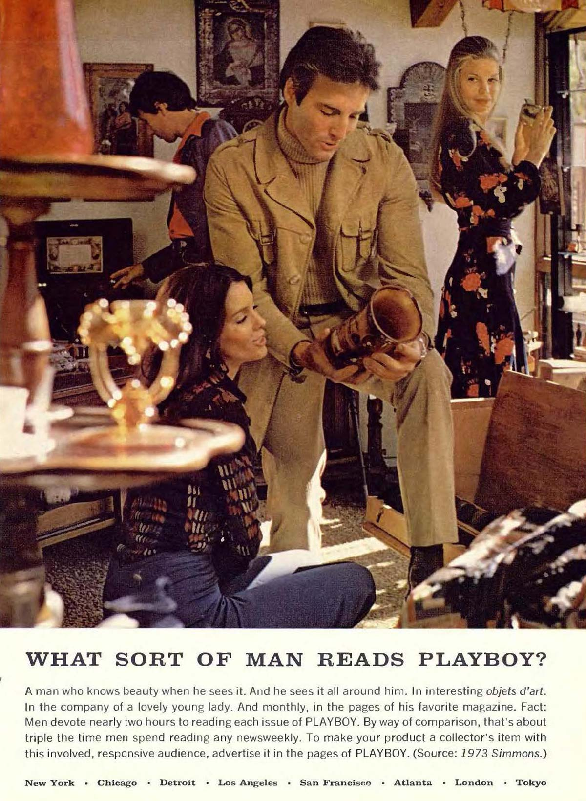 O homem que lê a Playboy
