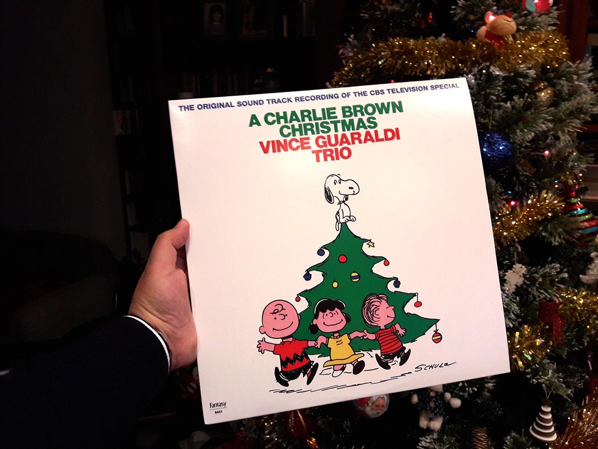 Edição em vinil de A Charlie Brown Christmas