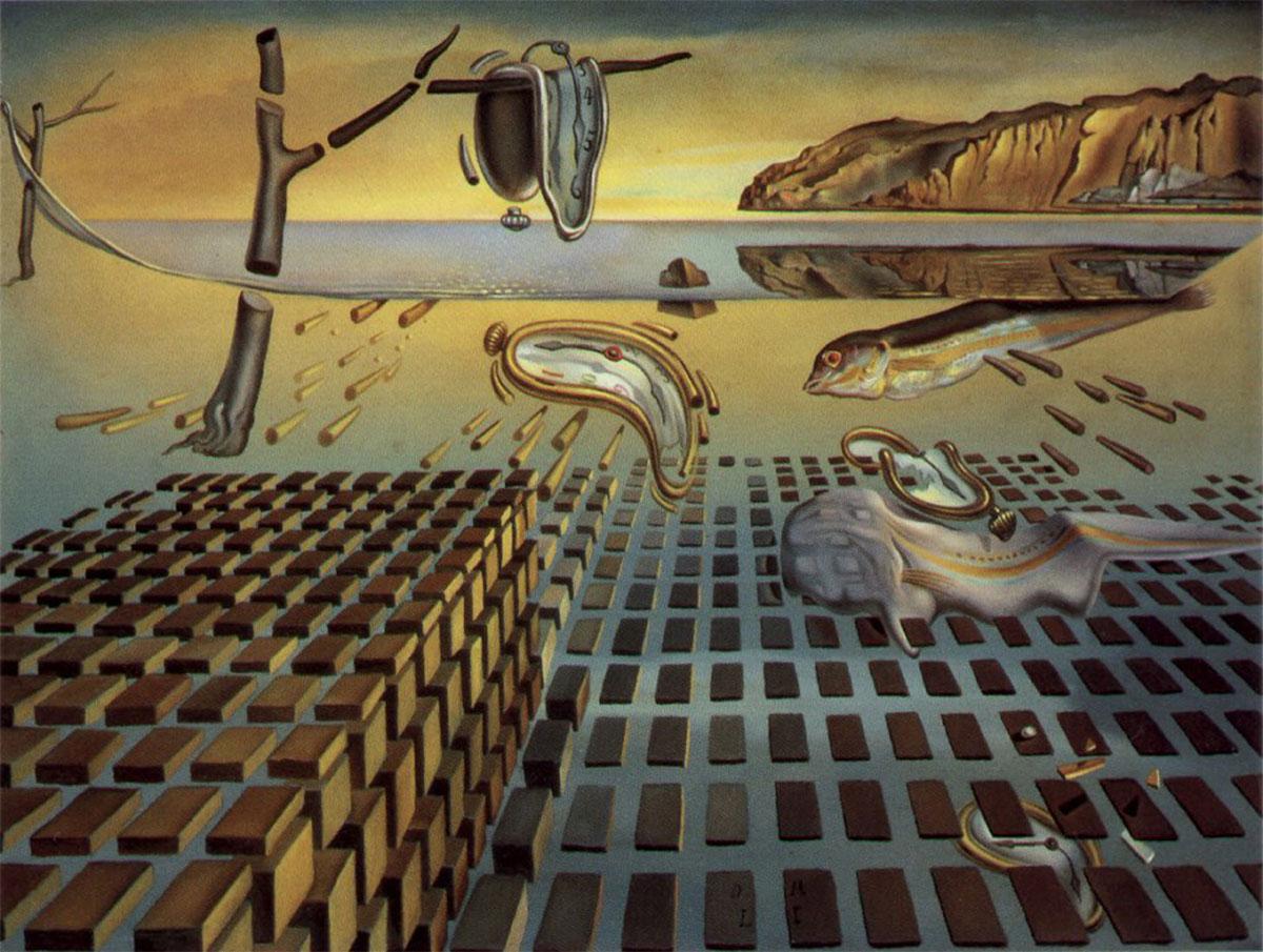 A imediatidade e a desintegração da Persistência da Memória por Salvador Dali