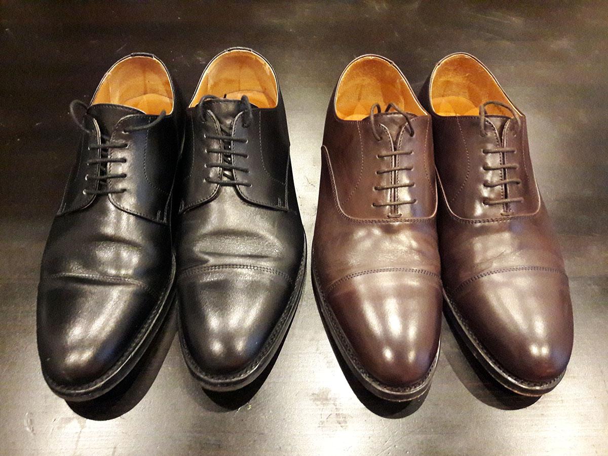 Sapatos de Homem, Berwick 1707, pretos e castanhos
