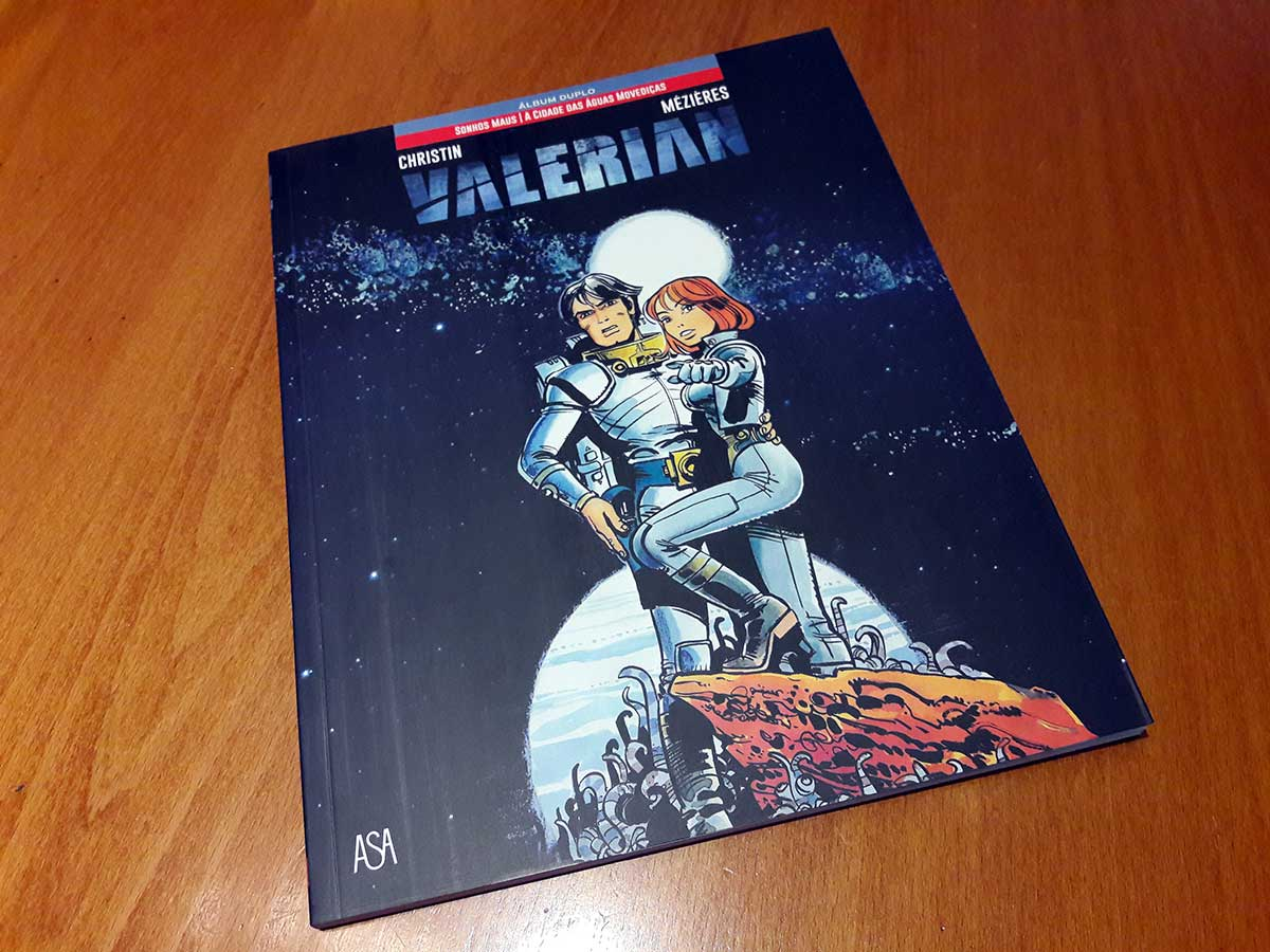 Valerian, nos livros